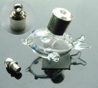 Wholesale Glass Vials Name Rice - Glass vials pendants rice bracelets vial name on rice mini vials pendants Write On Rice