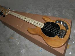 Wholesale Electric Guitar Natural Color - promotion Chinese bass guitar Natural color 4 Strings bass electric guitar music HOT SALE