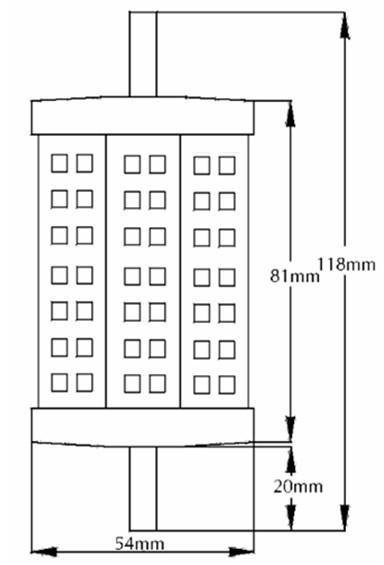 R7S 5630 SMD LED 5W 8W 10W 13W 85-265V防水IP65街灯高出力高品質