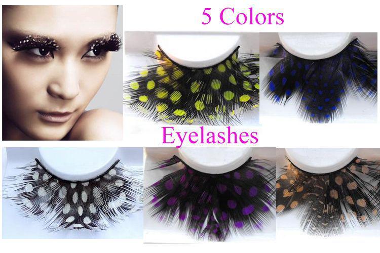 False Eyelashes Feather Dot Lashes For Party Makeup Tools Fake