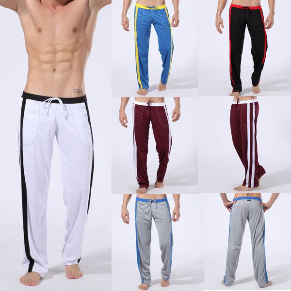 NEW Athletic Man Men Sport Sexy Long Pants Loungewear Fit Size M L ...