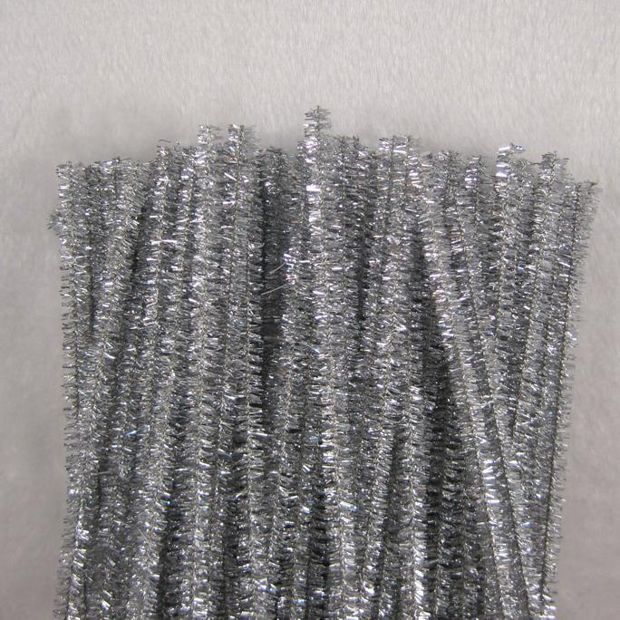 chenille stam tinsel hantverk stammar rörrengöring 6 mm x 12 tums shilly-stick diy plantskola konst för barn handgjorda kreativa materi