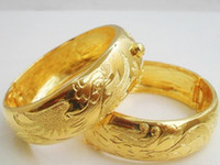 Wholesale Gold Phoenix Dragon Bangle - 15% off! Gold-plated bracelet bride married the dragon and phoenix bracelet