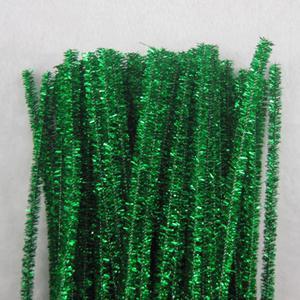chenille Tiges Tinsel Artisanat Tiges Nettoyeurs De Tuyaux 6 mm x 12 inchA Shilly-bâton bricolage pépinière art pour enfants à la main créative materi