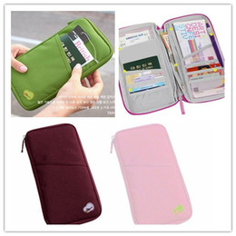 Wholesale Dress Shaped Cards - Free Shipping Handy Travel Pouch Storage Organizer Bag Korean Design