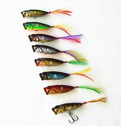 Saltwater Mini Hard Bait Canada - new arrivals mini POPPER baits fishing lure plastic hard baits floating china hook 1.8g 3.5cm