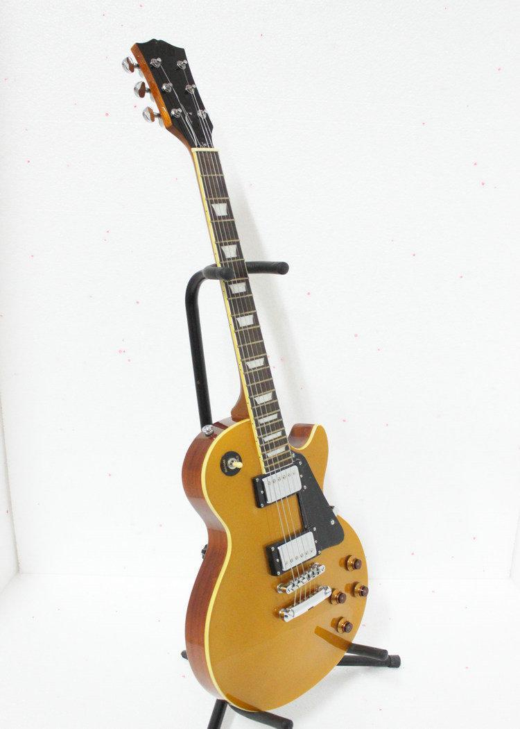 Niestandardowy sklep GoldTop Solidna gitara elektryczna Najlepsze instrumenty muzyczne