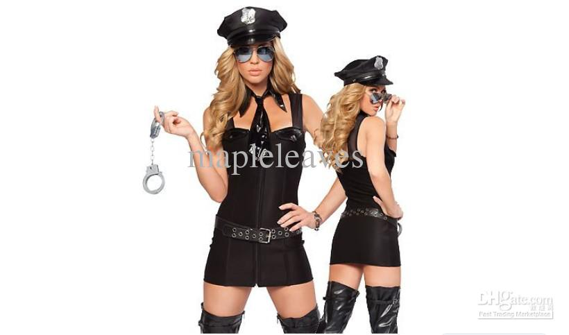 theme costume sexy control oneself miss reef airline stewardess policewoman five piece set popular halloween themes halloween costumes themes for work from - Popular Halloween Themes