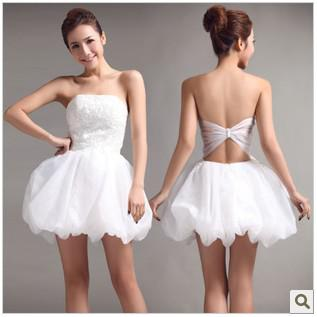Backless Short Dresses