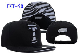 Wholesale New Arrival Trukfit T Snapback Black Zebra Color Snapback Hats Caps Hip Hop Street Snapback Hats