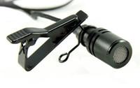 mikrofonbuchsen großhandel-Tragbares Mikrofon 2,5 mm STEREO JACK TIE CLIP LAPELLE LAVALIER MIKROFON
