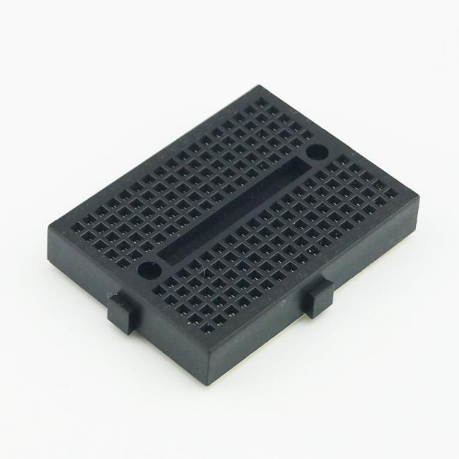 10 Adet / grup Mini Arduino için Breadboard 170 Kravat-puan Kalkan Siyah Ücretsiz Kargo # BV105 @CF