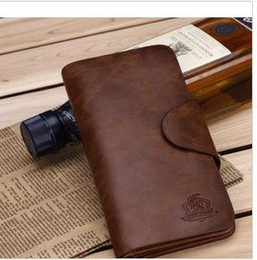 Wholesale Ship Pursed Brand Name - Free shipping , wholesale + Brand name genuine Leather Wallet for men + Gent 100% Leather purses hot