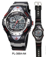 Wholesale Diving China Watches - Hot!Cool men's Diving 100m waterproof Top quality China Brand Sports digital watches with box import