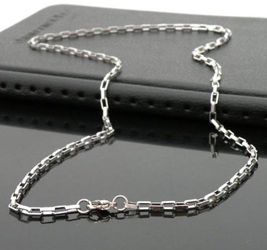 Enkel rostfritt stål halsband handgjord fin polering Ändra aldrig färg