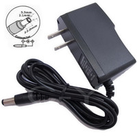 100PCS AC 100V-240V Converter Adapter DC 8V 7.5V 6V 5V 4.5 V 3V 1A Power Supply US plug + Free express