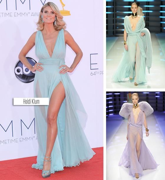 Fashion Light Sky Blue Deep V Neck A Line Flowing Chiffon ...