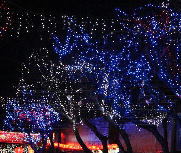100 LED 10M 크리스마스 장식 조명, 플래시 LED 컬러 조명, Led 조명 문자열 배터리 전원 방수 led 조명 스트립 조명 스트립