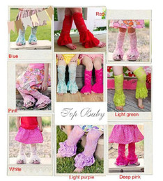Wholesale Girls Lace Ruffle Leggings - Wholesale Cute Lace Baby Leg Warmer,Ruffle Thigh High Leg Warmers for Girls,Tights and Leggings 7-co