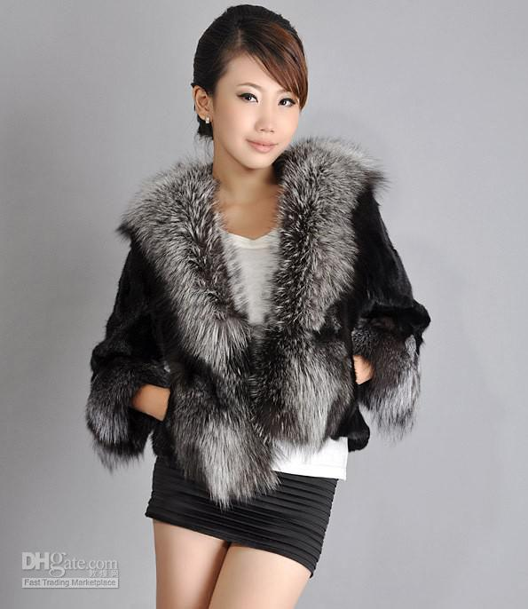 2017 New Fashion Fur Coat Modern Female Mink Brief Paragraph Faux ...