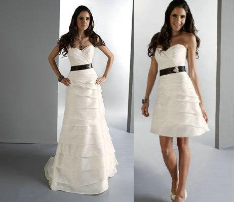 Wedding Dress Detachable Skirt