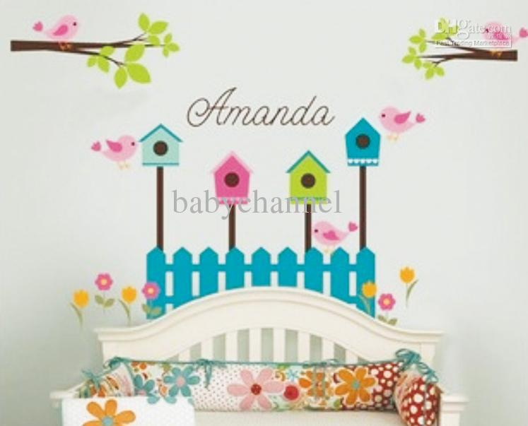 Mix Order Nursery Wall Decals House Removable Stickers 130 Style To Choose Baby  Wall Decals 5pcs Part 63