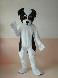 Alta qualidade venda quente muito inteligente boneca cão da mascote do traje de aniversário para adultos Halloween party desenhos animados Vestuário Trajes transporte livre de