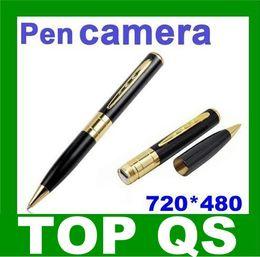 Wholesale Digital Pen Camcorder - Pen Camera Hidden Digital Video Recorder Camcorder 720*480 FREE SHIPPING mini pen dvr pen dv