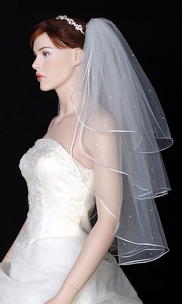 3 TIER White IVORY Wedding Bridal Veil HEADPIECE 2018 from ...