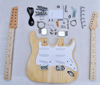 Wholesale Double Neck Guitar 12 - 12 String ST Double neck Electric guitar Kit