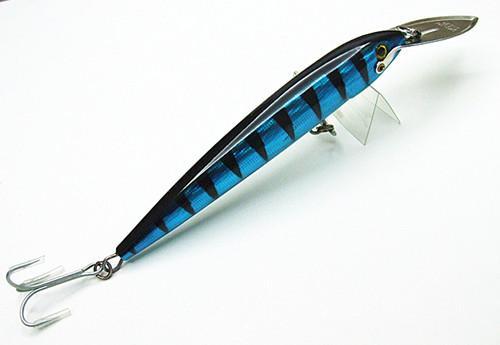 Stort fiske locka djupt dykfjädring typ bete hav stor spel professionell fiske tackla hårt bete rostfritt stål läpp 4 storlek