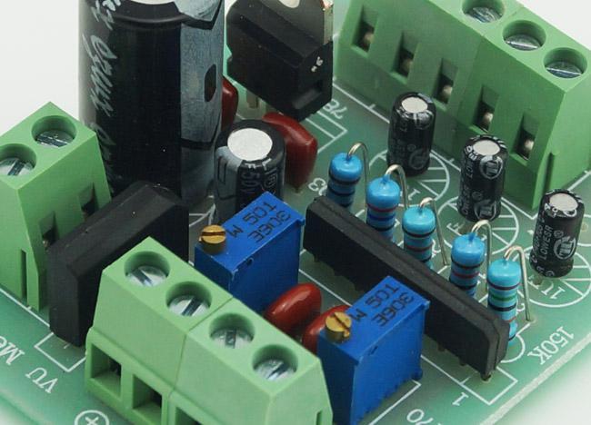 Vu Meter Driver PCB Ukończony TA7318P Board Stereo dla dwóch liczników Vu Nowy # BV066 @cf