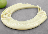 Wholesale Headband Parts - Simple jewelry Free shipping Wholesale 50Pcs Lot Jewelry DIY Plain Plastic Headband For Hair ornaments,Hairband Parts
