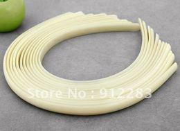Wholesale Headband Parts - Simple jewelry Free shipping Wholesale 50Pcs Lot Jewelry DIY Plain Plastic Headband For Hair ornaments,Hairband Parts