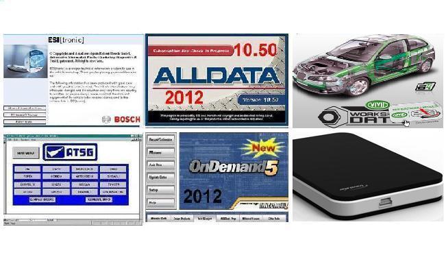Großhandel Alle Daten Mitchell 2012 Alldata 10.50 Bosch Esi 2012 ...