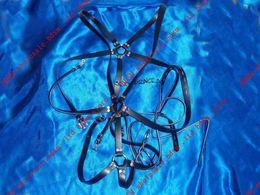 Wholesale Leather Strap Bondage Harness - BDSM FATORY Full Body Harness Male Leather Body bondage Straps
