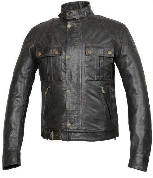 best selling Men leather Jackets latest style exquisite cow leather long sleeves tight fit Classic free shipping