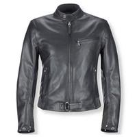 jaqueta superior venda por atacado-Jaquetas de couro dos homens concisa slim jaquetas Clássico zíper ajustável no punho top boa frete grátis