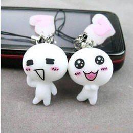 Wholesale Wholesale Order Fashion Dolls - Min.order is $15 (mix order) Fashion Sunny Dolls Mobile Phone Strape Chain Pendant AQ2716