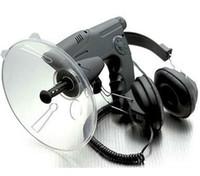 medidor de instrumentos al por mayor-2012 100 Metros Sonido Distancia + Auriculares de calidad Bionic Ear Bird Watching Instrumentos Binoculares fo