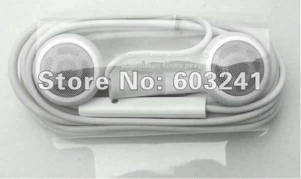 Auriculares de auriculares de control remoto con control remoto para Apple iPhone 4 4S envío gratuito de DHL
