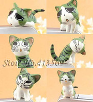 Wholesale Ear Jack Covers - New lovely chi's cat kitty minipol ear cap , Ear Hole Cap ,Dustproof plug 3.5mm,dust cover,9pcs lot