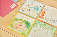 Wholesale Greeting Card Theme Christmas - free shipping Spring theme gifts greeting card Christmas toy gift Wholesale