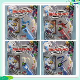 Wholesale Figured Out - hot sell monsuno Monster spin POP OUT Ultra Spin Core battle energy beast figures remote control toy