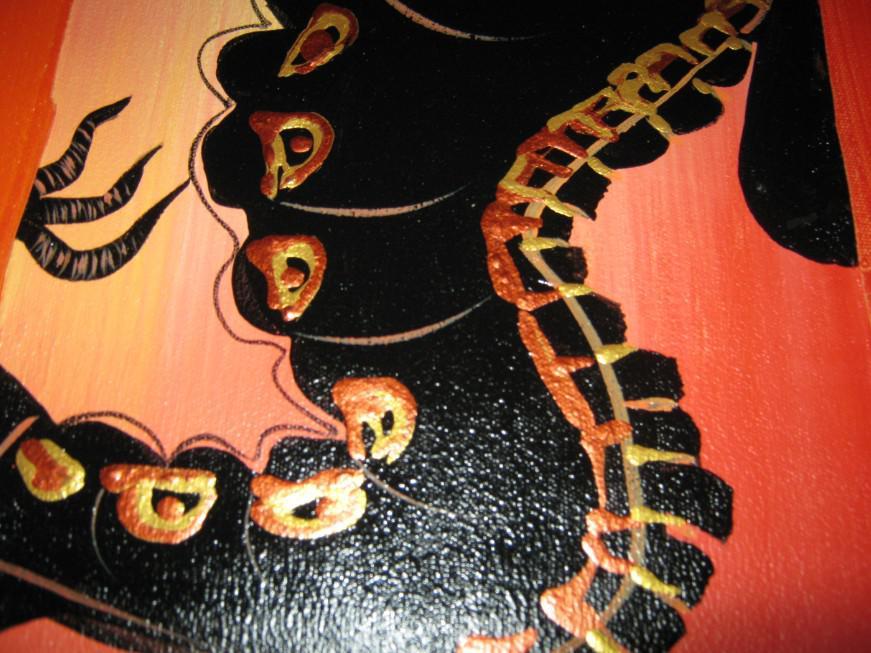 Peinture à l'huile Dragon Feng Shui décoration Moderne de haute qualité peint à la main bureau à domicile mur art décor