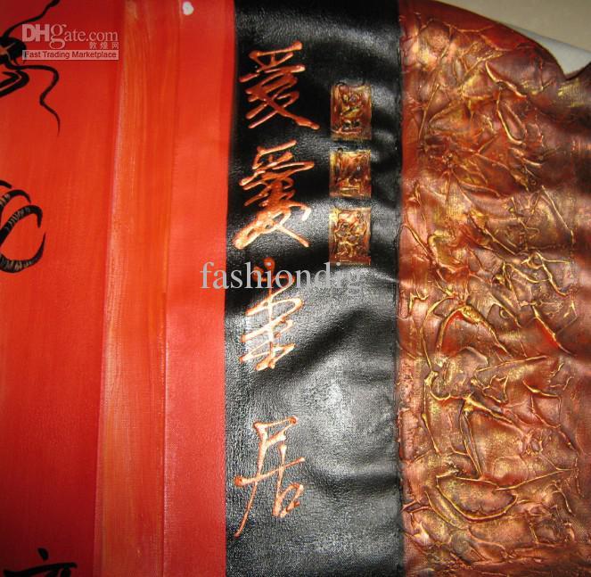 Ölgemälde Drache Feng Shui Dekoration Moderne hochwertige handbemalt Home Office Wand Kunst Dekor