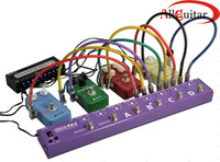 8 Loops Efecto de Guitarra Programable FX Pedal Looper Switching Router Looping System Para Boss Mooer