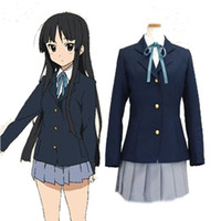 Christmas K- on Akiyama Mio cosplay costume school uniform