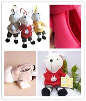 Wholesale Metoo Rabbit Bag - Cartoon Plush Toy Metoo Rabbit Plush Doll Rabbit Child Bag