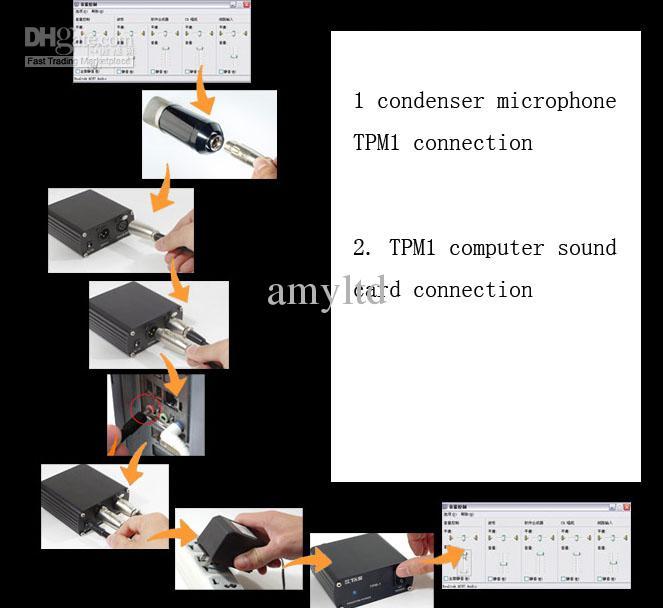 Hot High Quality Mini Version Takstar PC-K300 Recording Microphone Mic No Audio Cable Gratis frakt